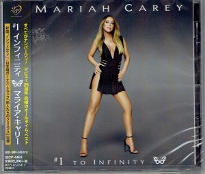MARIAH CAREY #1 To Infinity JAPAN CD (SICP-4463)