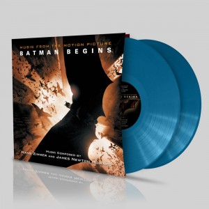 HANS ZIMMER & JAMES NEWTON HOWARD Batman Begins 2xLP (Bhutan Blue Flower color press 2017 - SILLP1316)