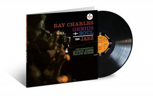 RAY CHARLES Genius + Soul = Jazz (HQ LP ACOUSTIC SOUNDS SERIES)