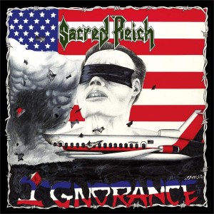 SACRED REICH Ignorance (RED WHITE MARBLE LP)