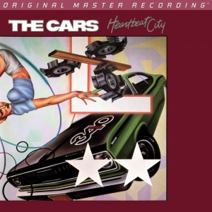 THE CARS - HEARTBEAT CITY (NUMBERED UDSACD 2163 SACD)