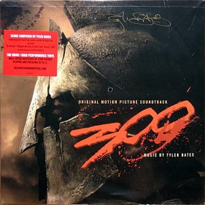 TYLER BATES 300: 2xLP (180 Gram High Performance Vinyl)