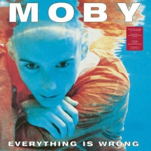 MOBY Everything Is Wrong- limited 180g LP