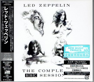 LED ZEPPELIN The Complete BBC Sessions JAPAN 3xCD WPCR-17506