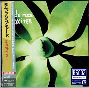 DEPECHE MODE Exciter JAPAN BluSpecCD2 (SICP-30544)