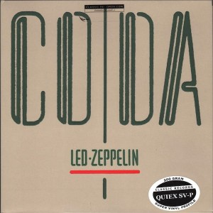 LED ZEPPELIN Coda 200g QUIEX SV-P CLASSIC RECORDS