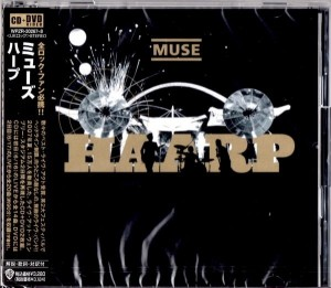 MUSE Haarp JAPAN DELUXE CD+DVD WPZR-30267