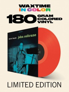 JOHN COLTRANE Blue Train 180g RED VINYL