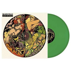 BLUES PILLS Lady In Gold - LIMITED GREEN VINYL