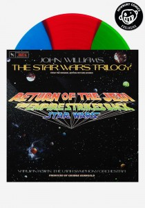 JOHN WILLIAMS Star Wars Trilogy 3-color vinyl LP