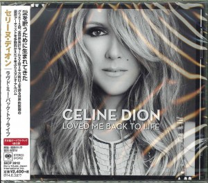CELINE DION Loved Me Back To Life JAPAN CD+bonus (SICP-3912)