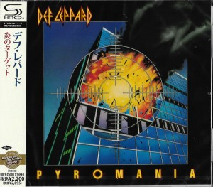 DEF LEPPARD Pyromania Japan SHM-CD UICY-25008