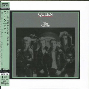 QUEEN The Game  JAPAN SHM PLATYNOWA mini LP UICY-40083