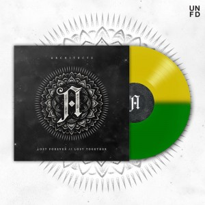 ARCHITECTS Lost Forever Lost Together BI-COLOR LP