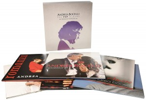 ANDREA BOCELLI The Pop Albums 14xLP BOX