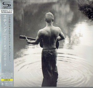 STING The Best Of 25 Years JAPAN 2 SHM-CD digipak (UICY-10018)