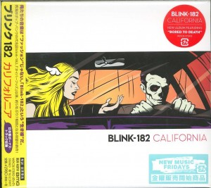 BLINK 182 California * WPCR-17390 CARDBOARD JAPAN CD (2016)