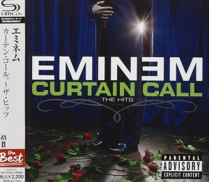 EMINEM Curtain Call - The Hits SHM CD JAPAN UICY-20335