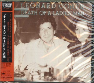 LEONARD COHEN Death Of A Ladies' Man JAPAN CD (SICP-5176)