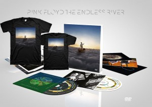 PINK FLOYD The Endless River CD + DVD Deluxe + T-shirt