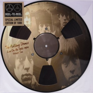 THE ROLLING STONES Live On Air 1963-1964 REEL-TO-REEL Picture Disc