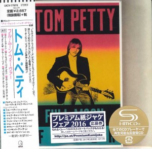 TOM PETTY Full Moon Fever JAPAN SHM-CD cardboard UICY-77970