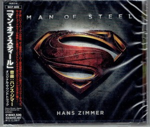 HANS ZIMMER Man of Steel - OST JAPAN CD (SICP-3840)