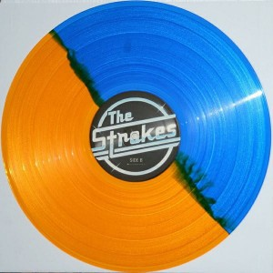 THE STROKES Is This It LIMITED blue/gold (0077/1000 copies)