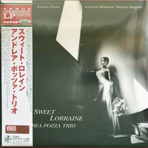 ANDREA POZZA TRIO Sweet Lorraine 45rpm 200g JAPAN LP (TKJV-19154)