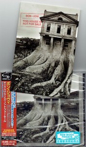 BON JOVI This House Is Not For Sale JAPAN SHM-CD + DVD DELUXE incl postcard (UICL-9112)