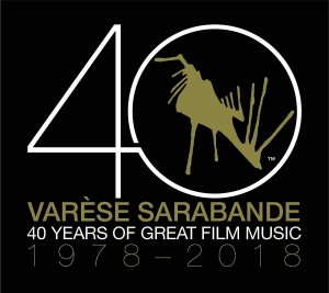 Varese Sarabande: 40 Years of Great Film Music 1978 - 2018 (2xLP)