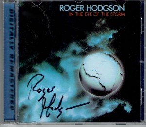 ROGER HODGSON In The Eye Of The Storm (CD SIGNED BY ARTIST)