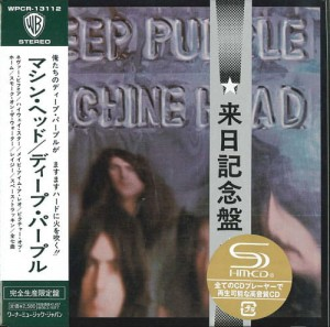 DEEP PURPLE Machine Head SHM-CD japan miniLP (WPCR-13112)