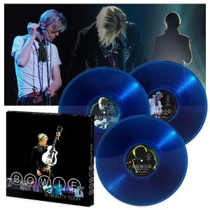 DAVID BOWIE A Reality Tour 3xLP 180g LTD BLUE (FRM-88272)