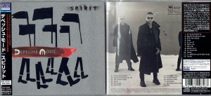 DEPECHE MODE Spirit (JAPAN Blu-spec CD2 SICP-3093)