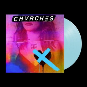 CHVRCHES Love Is Dead LIMITED BLUE LP + SIGNED POSTCARD