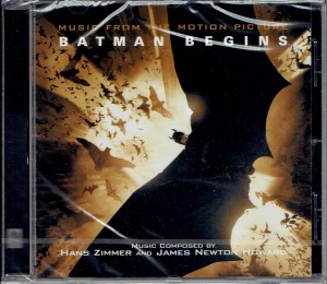HANS ZIMMER AND JAMES NEWTON HOWARD Batman Begins CD (SILCD-1316)