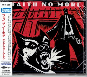 FAITH NO MORE King For A Day JAPAN CD (WPCR-75662)