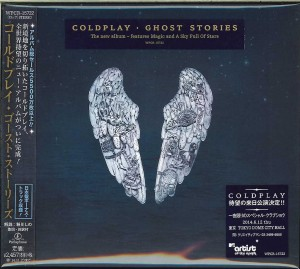 COLDPLAY Ghost Stories - JAPAN CD (WPCR-15722)