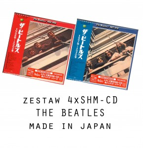 THE BEATLES 1962-66 + 1967-70 4x SHM CD japan 2015 (UICY-76982/85)