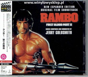Rambo First Blood by Jerry Goldsmith JAPAN CD expanded edition (RBCP-2812)