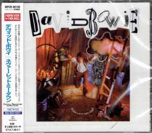 DAVID BOWIE Never Let Me Down JAPAN WPCR-80100