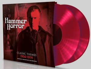 Hammer Horror Classics Theme 1958-74 RED CLOURED VINYL