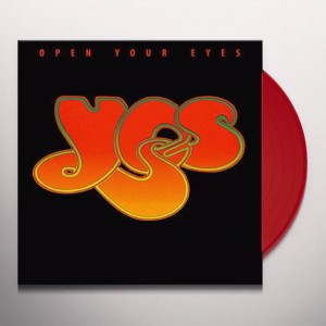 YES Open Your Eyes - 2xLP LIMITED RED VINYL