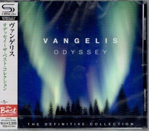 VANGELIS Odyssey (Definitive Collection) JAPAN SHM-CD UICY-25414