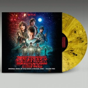Stranger Things s.1 vol.2 WAFFLE SWIRL YELLOW/ BLACK edition - Kyle Dixon Michael Stein