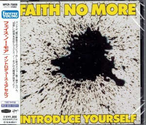 FAITH NO MORE Introduce Yourself JAPAN CD (WPCR-75659)