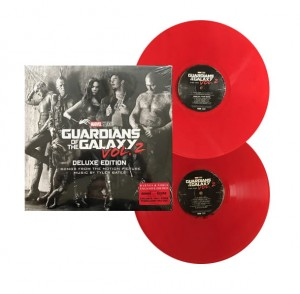 Guardians Of The Galaxy Vol. 2 RED COLOR 2xLP