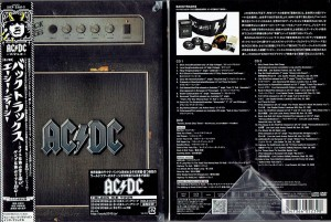 AC/DC Backtracks JAPAN DELUXE LIMITED 2xCD+DVD box (SICP-2561)