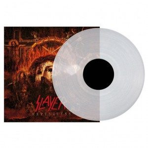 SLAYER Repentless - LP clear vinyl limited